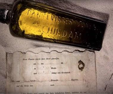 Najstarszy list w butelce znaleziony po 132 latach. I nie jest to list miłosny
