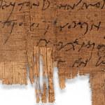"""Najstarszy na świecie list pisany ręką chrześcijanina. """"Prześlij mi sos rybny"""""""