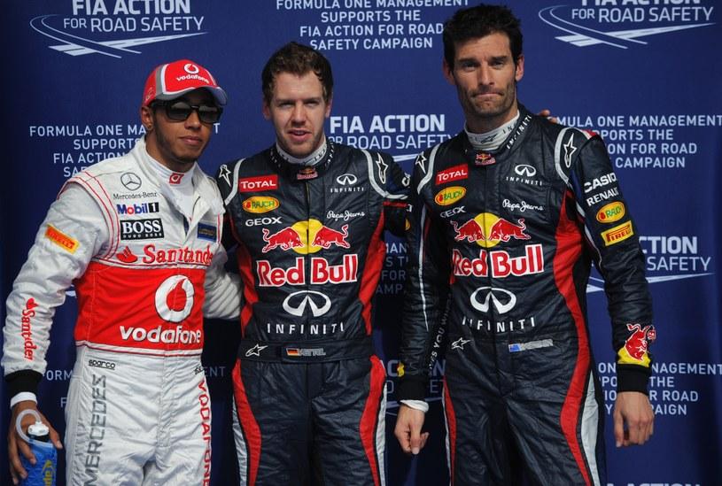 Najszybsi podczas kwalifikacji przed GP Bahrajnu /AFP