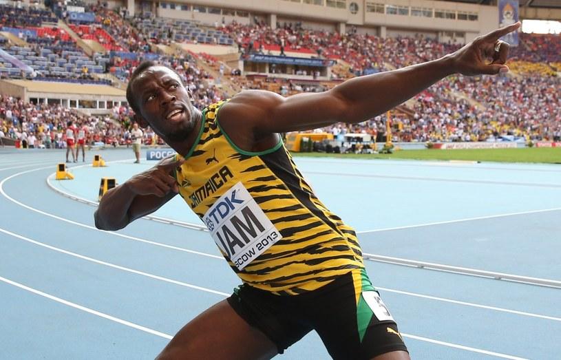 Najszybszy człowiek świata - Usain Bolt /AFP