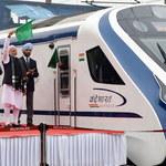 Najszybszy w Indiach pociąg zepsuł się dzień po inauguracji