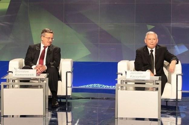 Najważniejsi kandydaci zapewniają o swoim poparciu dla szybkiej informatyzacji Fot. Piotr Grzybowski /Agencja SE/East News