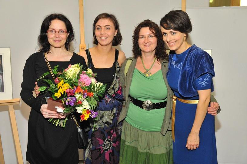Najważniejsze kobiety w życiu Czesława Niemena: Małgorzata Niemen, Eleonora Niemen, Maria Gutowska i Natalia Niemen - zdjęcie z 2009 r. /Radosław Nawrocki /Agencja FORUM