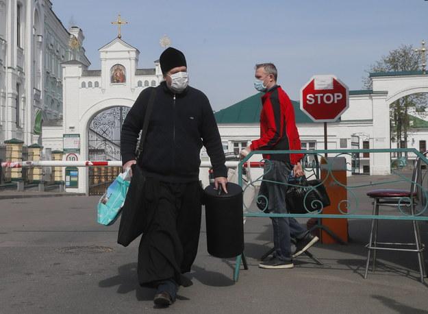 Najważniejszy klasztor prawosławny na Ukrainie - kijowska Ławra Peczerska /SERGEY DOLZHENKO /PAP/EPA