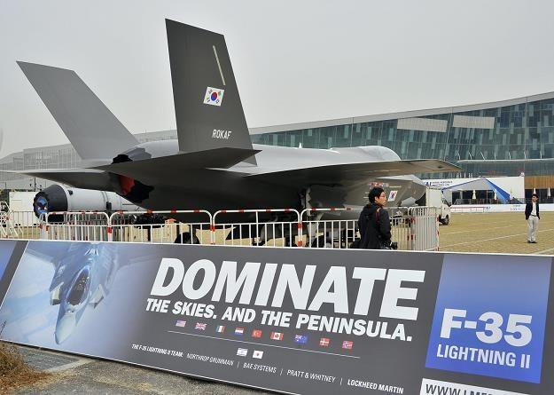 Największą firmą zbrojeniową jest amerykański Lockheed Martin /AFP