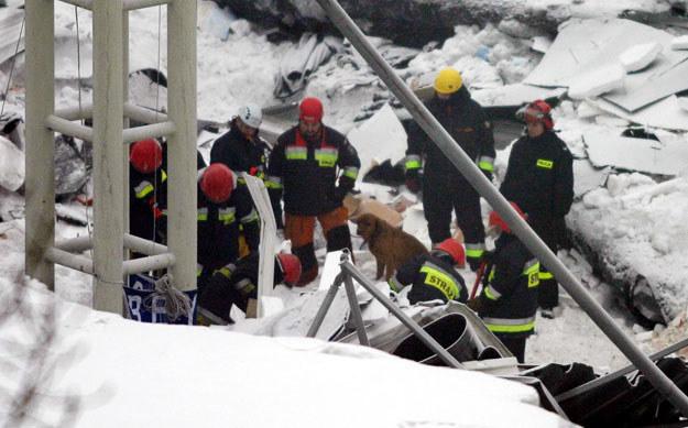 Największa katastrofa budowlana w historii Polski /Darek Redos /Reporter