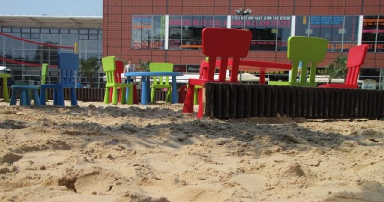 Największa plaża w centrum Łodzi