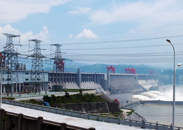 Największa zapora świata na rzece Jangcy /AFP