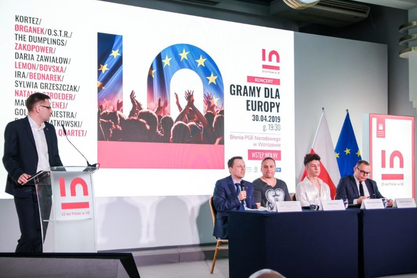 Największe muzyczne gwiazdy uczczą piętnastolecie obecności Polski w UE/Paulina Żak /materiały promocyjne