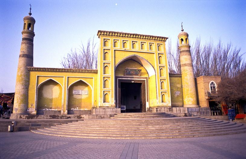 Największy meczet w Chinach znajduje się właśnie w Kaszgarze /In Pictures Ltd./Corbis /Getty Images