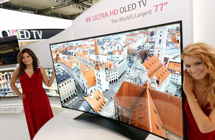 Największy na świecie telewizor Ultra High Definition (ULTRA HD) OLED TV, produkcji firmy LG - to połączenie Ultra HD z technologią organiczną OLED /materiały prasowe