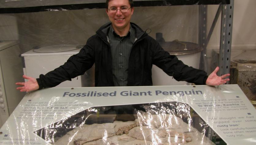 Największy pingwin świata pochodzi z Nowej Zelandii. Znalezisko odkryły dzieci