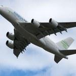 Największy samolot pasażerski pierwszy raz w Polsce!