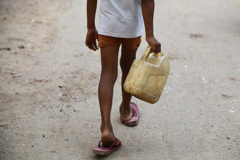 Największy w historii Indii deficyt wody /DOMINIQUE FAGET /AFP