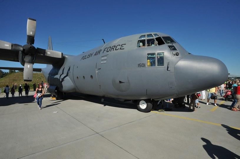 Największym samolotem transportowym w Polsce jest C-130E Hercules /East News