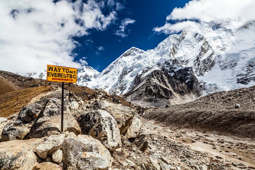"""Najwyższa góra świata wskutek silnych wstrząsów zmieniła swoje """"trajektoria wędrówki"""" /Sean Newton / mediadrumworld.com/EAST NEWS /East News"""