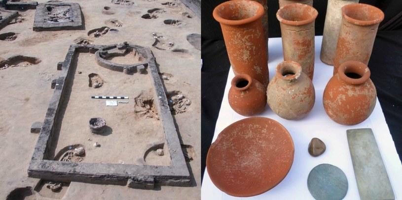 Najwyższa Rada Starożytności zapowiedziała, iż prace będą kontynuowane, gdyż archeolodzy mają nadzieję znaleźć kolejne groby /Egyptian Ministry of Tourism and Antiquities /East News