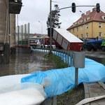 Najwyższy alert dla Gdańska. Poziom wody w zbiornikach powoli zaczyna opadać