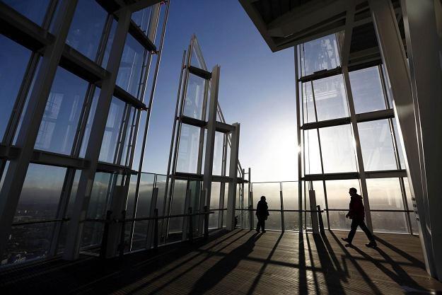 Najwyższy budynek w UE, wieżowiec Shard w Londynie /AFP