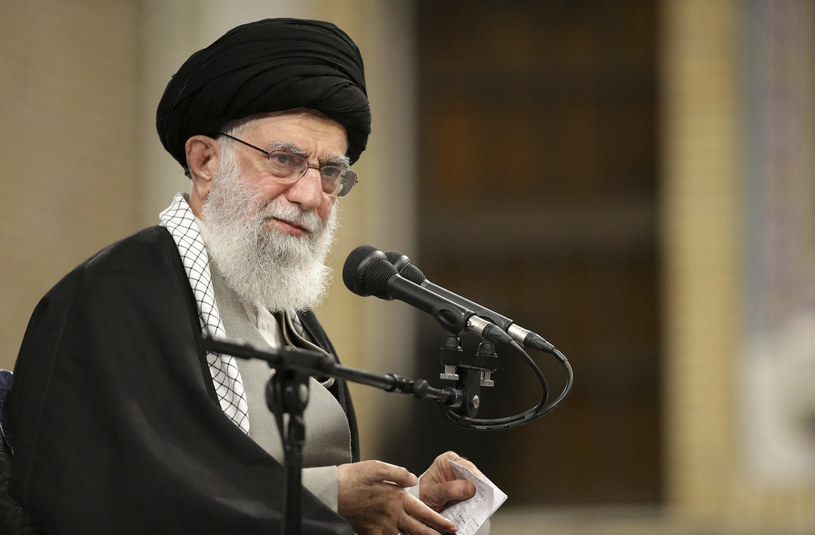 Najwyższy duchowy przywódca Iranu Ali Chamenei prawdopodobnie miał na myśli Albanię, nie Polskę /Office of the Iranian Supreme Leader/Associated Press /East News