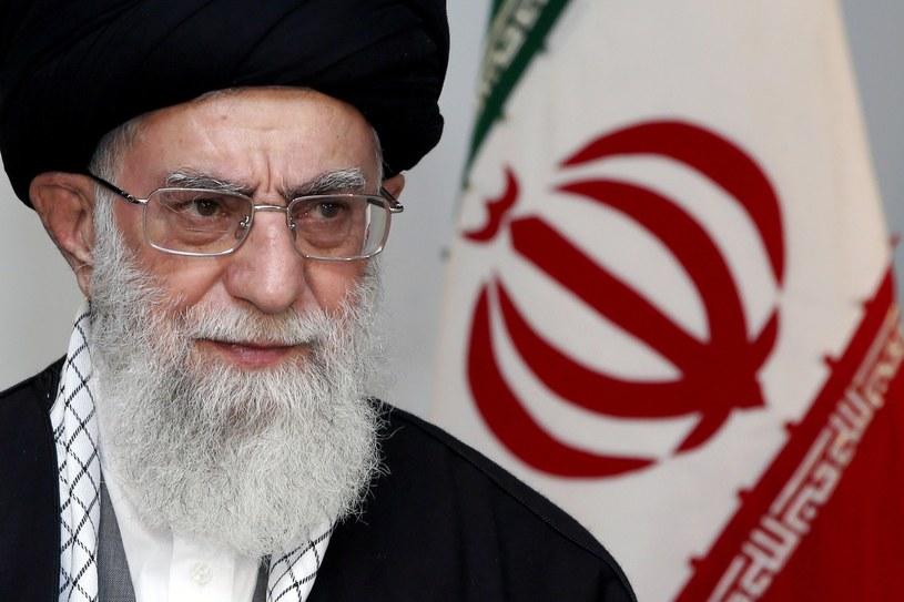 Najwyższy przywódca Iranu ajatollah Ali Chamenei. /AFP