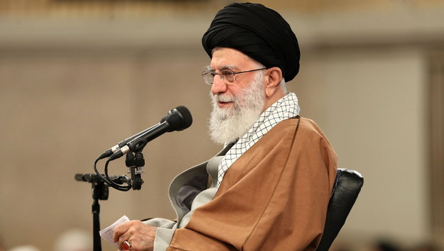 Najwyższy przywódca Iranu Ali Chamenei /PAP/EPA