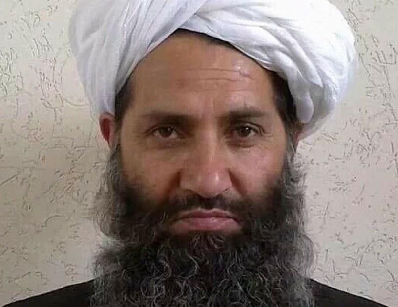 Najwyższy przywódca talibów mułła Hajbatullah Ahundzadeh /AFP PHOTO / AFGHAN TALIBAN /East News