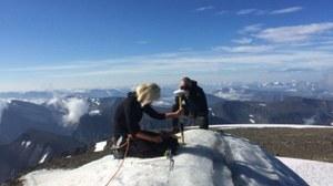 Najwyższy szczyt Szwecji niższy niż rok temu