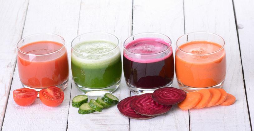 Najzdrowsze są soki warzywne /123RF/PICSEL