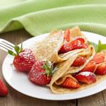 Naleśnikowy torcik truskawkowy