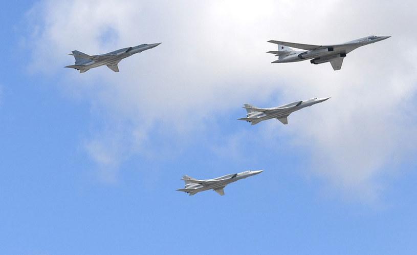 Nalotu dokonały bombowce dalekiego zasięgu Tu-22M3 /Natalia Kolesnikova /AFP