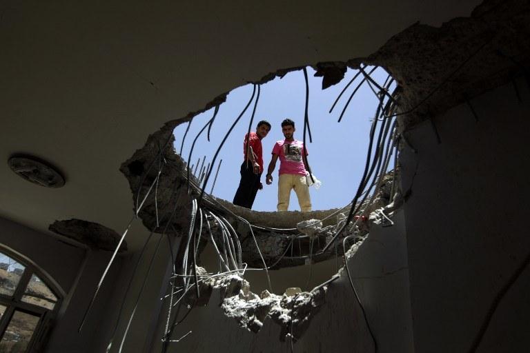Naloty prowadzono w rejonie Adenu /AFP