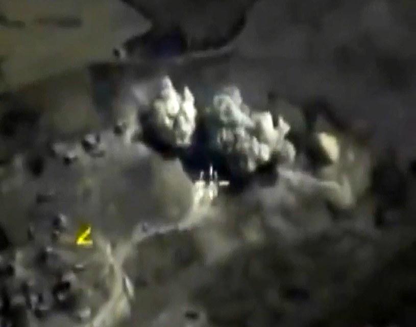 Naloty sił rosyjskiego lotnictwa w Syrii /AFP