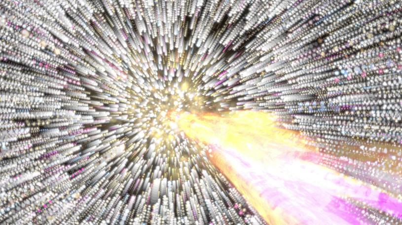 Namierzenie źródła kosmicznych neutrin nie było łatwe /YouTube