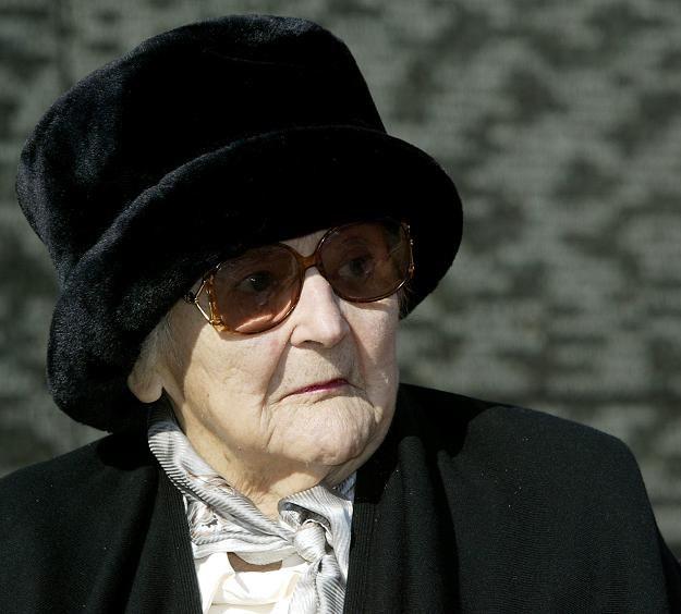 Nancy Wake - zdjęcie z 2004 roku /AFP