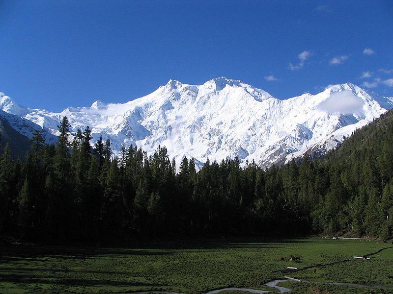 Nanga Parbat - niemiecka góra przeznaczenia /Wikimedia Commons /materiały prasowe