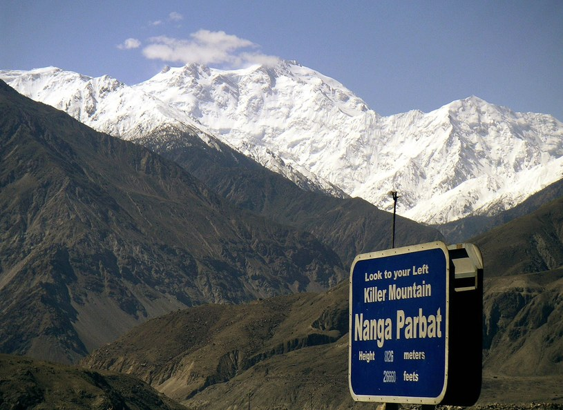 Nanga Parbat to góra okryta złą sławą /ASSOCIATED PRESS/FOTOLINK  /East News