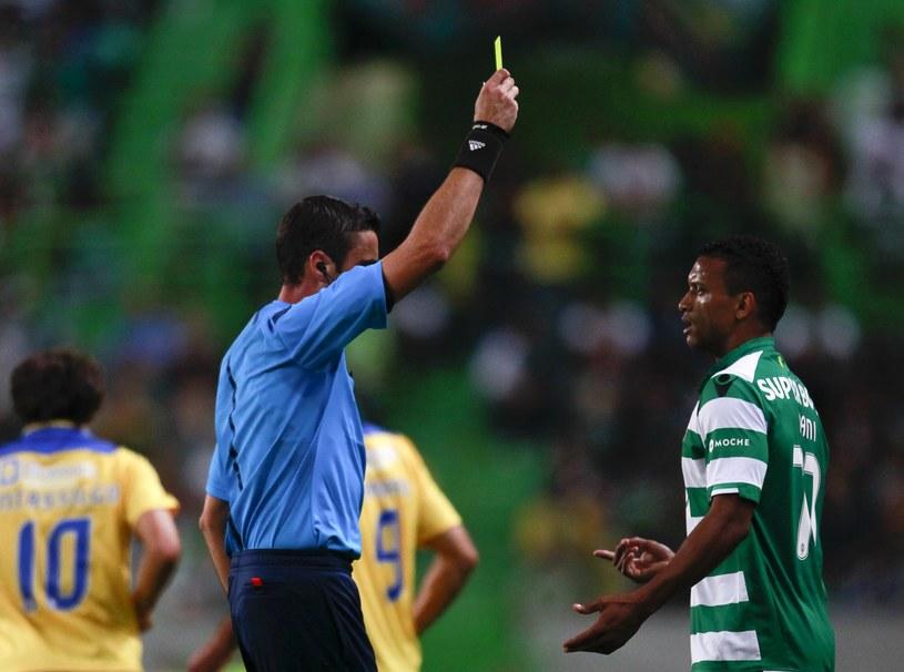 Nani w pierwszym meczu po powrocie do Sportingu /AFP
