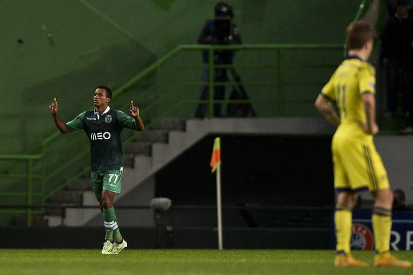 Nani właśnie strzelił bramkę Mariborowi. /AFP
