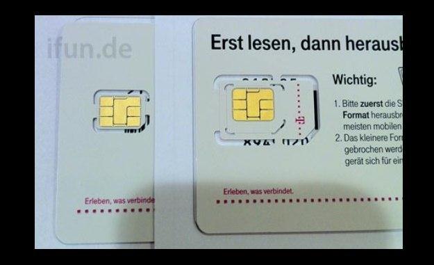 nano-SIM dla iPhone'a 5 (fot. ifun.de) /Komórkomania.pl