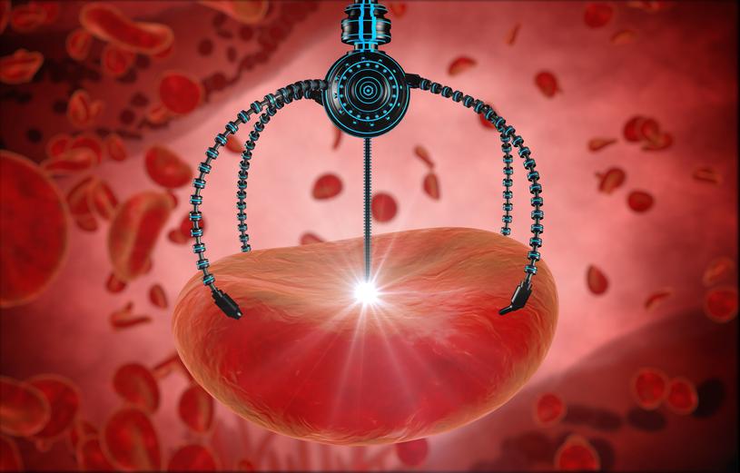 Nanoroboty mogą być o wiele mniej inwazyjne niż inne metody leczenia /123RF/PICSEL