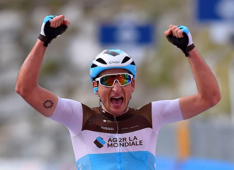 Nans Peters wygrywa 17. etap Giro d'Italia /AFP /AFP