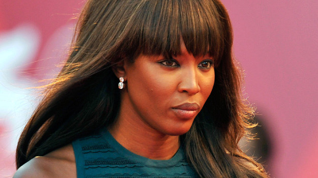 "Naomi Campbell na weneckiej premierze filmu ""Miral"" / fot. Pascal Le Segretain /Getty Images/Flash Press Media"