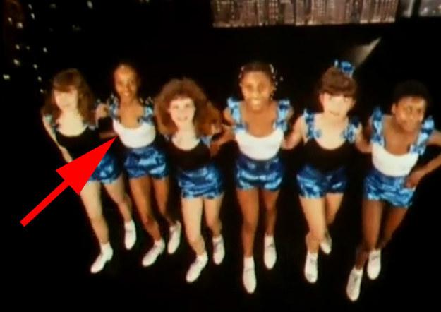 Naomi Campbell w klipie Culture Club /