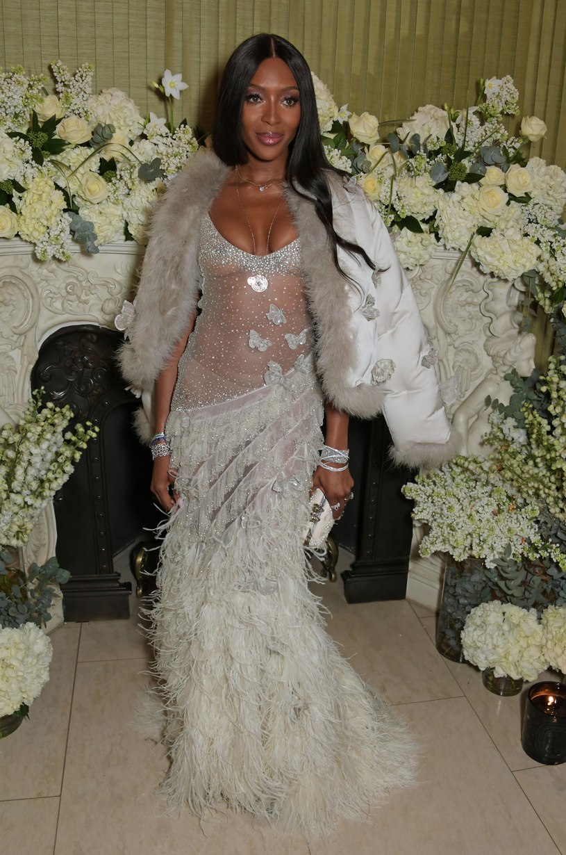 Naomi Campbell /David M. Benett /Getty Images