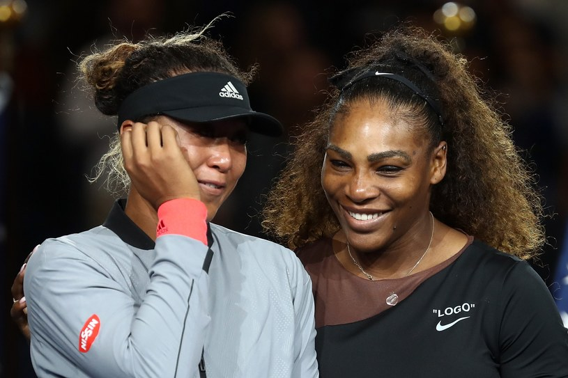 Naomi Osaka i Serena Williams /AFP