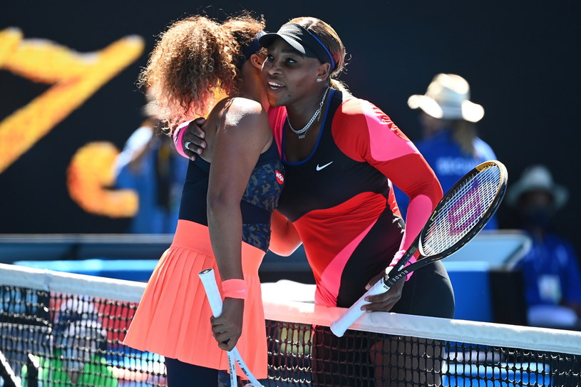Naomi Osaka (z lewej) i Serena Williams /PAP/EPA