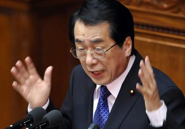 Naoto Kan, premier Japonii /AFP