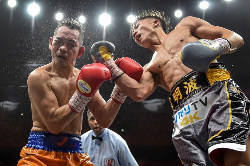 Naoya Inoue (z lewej) i Nonito Donaire pokazali fenomenalny boks /AFP