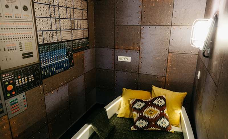 Nap room (pokój drzemek) w warszawskim biurze Google /materiały prasowe